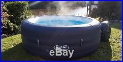 2018 Lay Z Spa SAINT TROPEZ Airjet Inflatable Hot Tub (4-6 Person) LTD EDITION