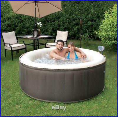 2 4 Person TheraPureSpa TheraPure Portable Inflatable Hot Tub Spa EST5868 R