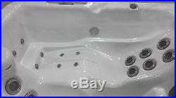2 Person 110V Outdoor Whirlpool Spa Hot Tub with 25 Therapy Stainless Steel Jets