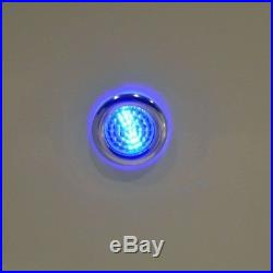 2 Person White Shell Spas Hot Tub Stainless 13 Jets W Underwater LED Light New