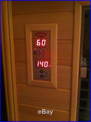 3 person deluxe sauna