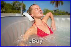 4-6 Person AirJet Spa Inflatable Hot Tub massage jets Jacuzzi withLED Light Show