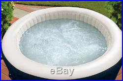 4 Person Bubble Therapy PureSpa Plus with2 Headrests & 2 Extra Filter Cartridges