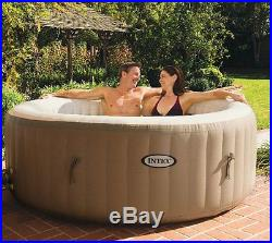 4-Person Inflatable Portable Hot Tub Spa Water Massage + Six Filter + Cover Lid