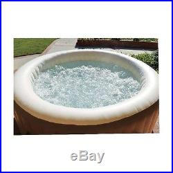 4-Person, Inflatable, Portable, Spa, Hot Tub, with Six Filter Cartridges, Pool
