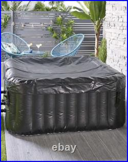 4 Person black Hot Tub Spa like clever spa / Lay-z spa jacuzzi