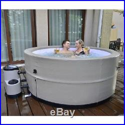 5 PERSON PORTABLE SPA PATIO CAMPER RV TRAVEL HOT TUB with FILTER PUMP