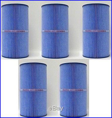 5 Pack of Replacement Spa Filters for Watkins Hot Springs Spas with MICROBAN