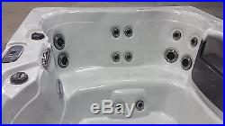 5 Person 110V Outdoor Whirlpool Spa Hot Tub with 23 Stainless Steel Jets