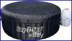 60 Jet Inflatable Hot Tub Indoor Outdoor Jacuzzi Backyard Deck Heat Pool