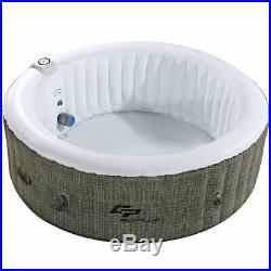6Person Hot Tub Spa Jacuzzi Heated Massage Bubble Outdoor Inflatable Patio Cover