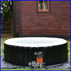 6 Person Heated Hot Tub Massage Jacuzzi Inflatable Delight Bubble SPA Bath Pool