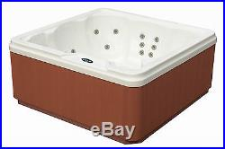 6-Person Hot Tub Spa with 30 Jets Built-In Lounger & Cover Included