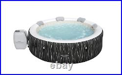 6 Person Inflatable Hot Tub Spa Portable Saluspa Pool Jacuzzi with LED Lights