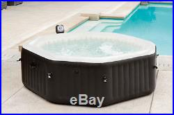 6 Person PureSpa Jet & Bubble Deluxe with2 Headrests & 2 Extra Filter Cartridges