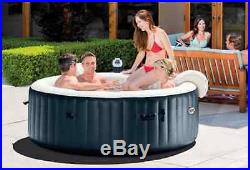 6 person Inflatable Portable Heated Bubble Hot Tub Spa Relaxation Water Massage