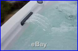 7 Person 65 Jet Hot Tub Spa Mahogany with Cover