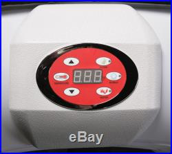 Aero Spa 4 Person Inflatable Portable Heated Hot Tub Spa withFloating Thermometer