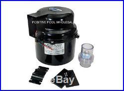 Air Supply Silencer Pool Spa Hot Tub Blower 1.5 HP 120V 6316120