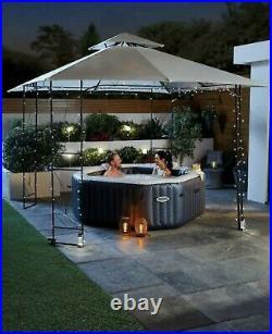Aldi Intex Inflatable 4 Man Octagon Hot Tub Spa Pool FAST DELIVERY pre-order