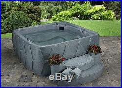 AquaRest Spa AR-500P (240-Volt) 5 Person Spa with 19 Jets and Free Cover