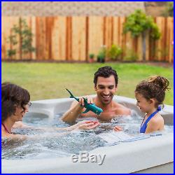 Aquaterra Benicia Plug In 4 Person Hot Tub Spa with Cover (Certified Refurbished)