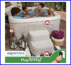 Aquaterra Spas Benicia 20-jet, 4-person Spa, Plug-N-Play