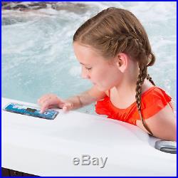 Aquaterra Spas Montecito 45 Jet 6 Person Hot Tub + Cover (Certified Refurbished)