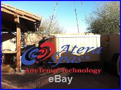 Atera True-Zone Party Pool, 2 Zones, Dual Temp 8 X 16