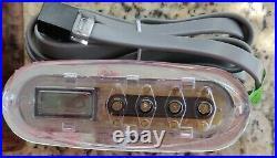 BALBOA DREAM MAKER SPAS ORIGINAL 4.25 TOPSIDE CONTROLLER with OVERLAY DECAL
