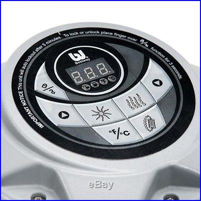 BESTWAY LAY-Z-SPA MIAMI 54124 INFLATABLE PORTABLE AIR BUBBLE MASSAGE HOT TUB SPA
