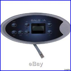JACUZZI® SPA Topside Control Panel.2 Button With Temperature Display 2500-154