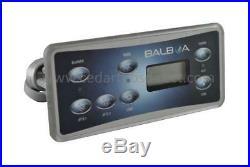 Balboa VL701S Rectangular Serial Panel PN 53189-0