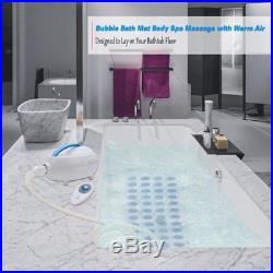 Bath Tub Spa Hot Tub Body Massage Portable Bubbling Mattress Jacuzzi Massager
