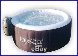 Bestway 71 x 26 Lay-Z-Spa Miami Inflatable Portable 4-Person Hot Tub -Open Box