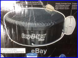 Bestway Hot Tub Heated Massage Spa Pool Portable Jacuzzi Outdoor 4 Person Patio