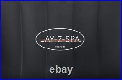 Bestway LAY-Z-SPA Whirlpool Miami AirJet 2021 180 x 66 cm, 2-4 Personen 60001