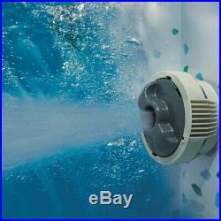 Bestway Lay-Z-Spa Paris Inflatable Hot Tub 4-6 People LED Lighting0