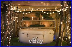 Bestway Lay-Z-Spa Paris Inflatable Hot Tub 4-6 People LED Lighting-1