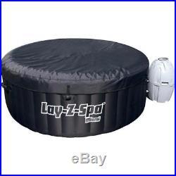 Bestway SaluSpa 71 x 26 Inch Inflatable Portable 4-Person Spa Hot Tub 54124