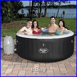 Bestway SaluSpa Inflatable Hot Tub Spa Jacuzzi with Full Chlorine Sanitizer Kit