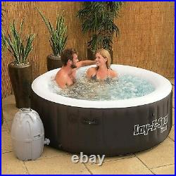 Bestway SaluSpa Miami Inflatable Hot Tub 4-Person AirJet Spa 71 x 26 In