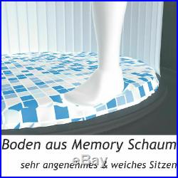 Bestway Whirlpool Lay-Z-Spa Aufblasbar Indoor Outdoor Pool Filterpumpe Heizung