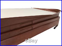 Brown AMS1000 Aegean Master Spa 84x 78 Fully Insulated Spa Cover with Locks