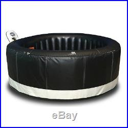Bubble Jet Deluxe Massage Outdoor Spa 4 Person Portable Inflatable Jacuzzi New