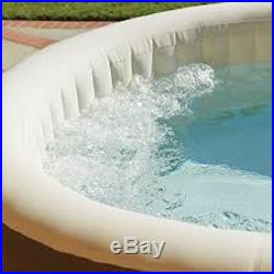 Bubble Jets Hot Tub Inflatable Portable Massage SPA Affordable 4 Person Jacuzzi