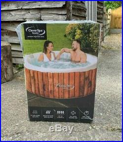 CLEVERSPA Sequoia Inflatable 4-person Hot Tub Spa BRAND NEW! Like LAYZSPA CANCUN