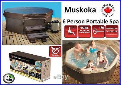 Canadian Spa Muskoka 6 Person 6ft Portable Spa A Truely Amazing Hot Tub