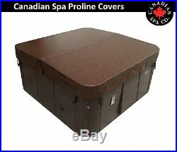 Canadian Spa Proline Hot Tub Cover 213cm x 213cm Fast Delivery Brown / Grey