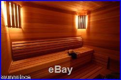 Cedro Precut Sauna Kit 4'x6'x7', the sauna place, precut saunas, saunas